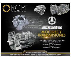 Motores y transmisiones Mercedes Benz para maquinaria