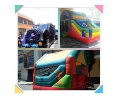 Paquete de Fiesta Infantil con Inflable