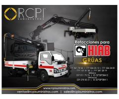 Componentes para grúas industriales marca HIAB