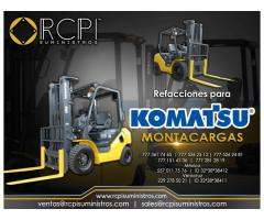 Venta de componentes para montacargas Komatsu