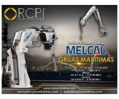 Venta de refacciones para grúas marítimas marca Melcal