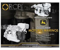 Componentes para motores marinos John Deere
