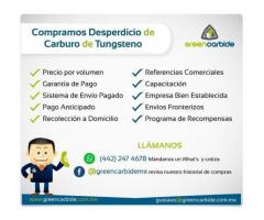 Compramos carburo de tungsteno
