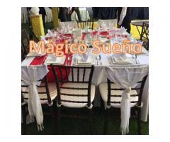 Vajilla, Salas Lounge y Pista de Cristal