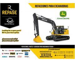 REFACCIONES EXCAVADORAS JOHN DEERE