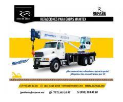 REFACCIONES PARA EQUIPO MANITEX