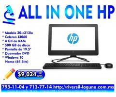 COMPUTADORA ALL IN ONE HP 20-C2131A