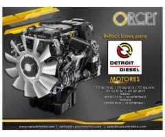 Refacciones para motores Detroit Diesel