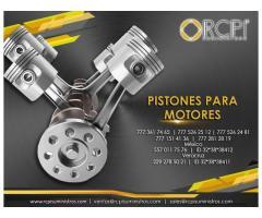 Venta de pistones de motores para grúas industriales