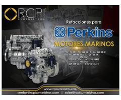 Venta de refacciones para motores marinos marca Perkins