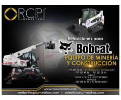 Venta de refacciones para equipo minero marca Bobcat