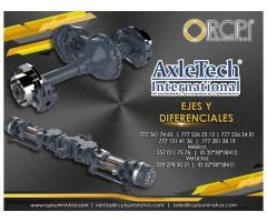 Ejes y diferenciales AxleTech para grúas industriales