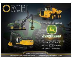 Refacciones para equipos de construcción John Deere