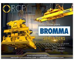 Venta de componentes para spreaders Bromma