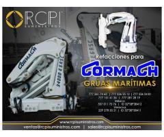 Venta de componentes para grúas marítimas marca Cormach