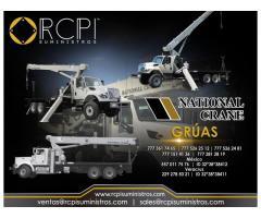 Venta de componentes para grúas industriales National Crane