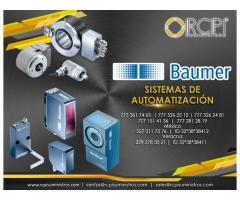 Productos de automatización Baumer para equipos portuarios