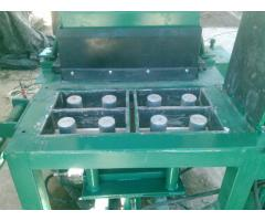 Hidraulica 4 cavidades para bloque tipo lego