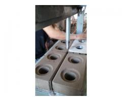 Hidroneumatica 4 cavidades para bloque