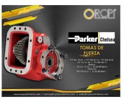 Tomas de fuerza Parker Chelsea para grúas industriales