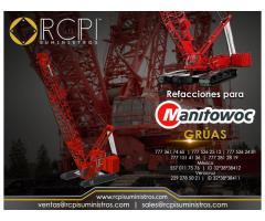 Venta de repuestos para grúas industriales Manitowoc