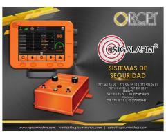Sistemas de seguridad marca Sigalarm para grúas industriales