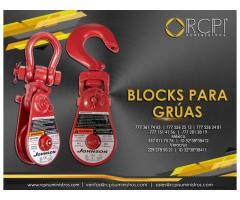 Venta de blocks para grúas industriales