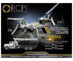 Repuestos para grúas industriales marca National Crane