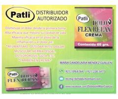 DOLO FLEX RELAX DISTRIBUIDOR AUTORIZADO PATLI