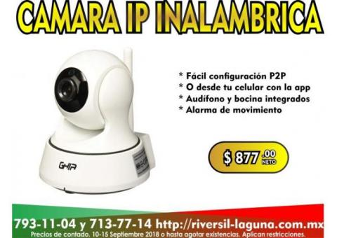 CAMARA IP INALAMBRICA GHIA HORUS