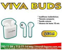 AUDIFONOS INALAMBRICOS EASY LINE VIVA BUDS