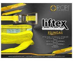 Eslingas Liftex para grúas industriales