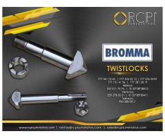 Twistlocks para spreaders Bromma