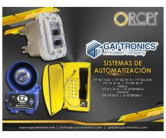 Sistema de automatización Gai tronics para equipo industrial
