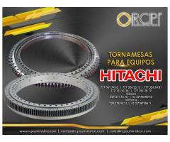 Venta de tornamesas para maquinaria Hitachi