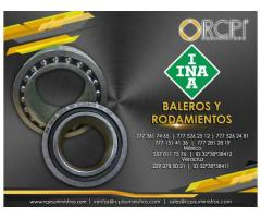 Venta de baleros INA para grúas industriales y maquinaria pesada