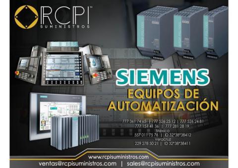 Equipo de automatización Siemens para equipo portuario