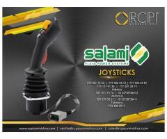 Joysticks Salami para grúas industriales y maquinaria pesada