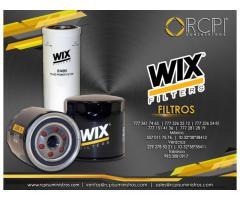 Filtros marca Wix para grúas industriales