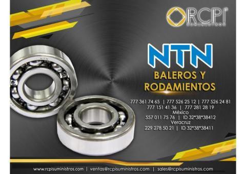 Baleros NTN para grúas industriales