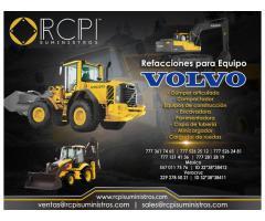 Refacciones para equipos de construcción Volvo