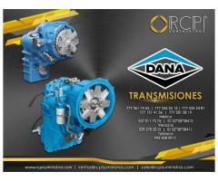 Transmisiones marca Dana para grúas industriales