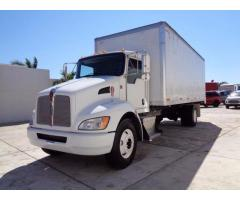 camion Kenworth T370 2011 Blanco