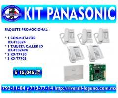 PAQUETE PANASONIC PARA PYMES