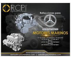Refacciones para motor marinos Mercedes Benz