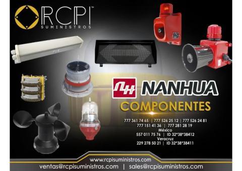 Componentes nanhua para grúas industriales