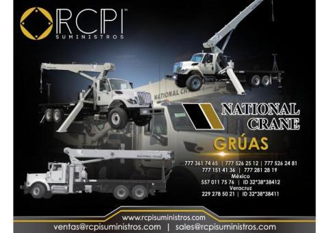 refacciones para grúas industriales National Crane