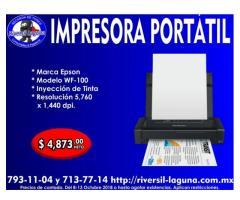 IMPRESORA PORTATIL EPSON WF-100