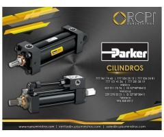 Cilindros hidráulicos Parker para grúas industriales