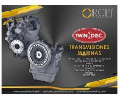 Refacciones para transmisiones Twin Disc